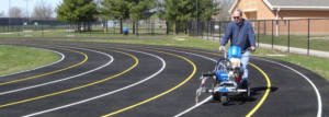 Running Track Striping