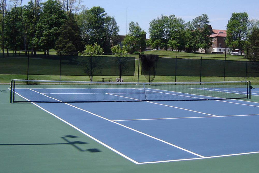 Indiana and Midwest Tennis Court Construction and Renovation