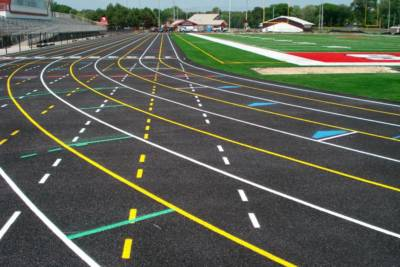 Midwest High School and College Running Track Construction and Renovation