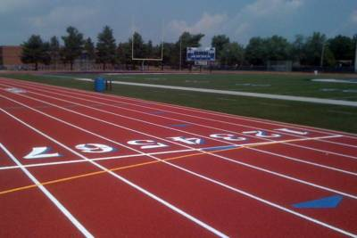 Indiana and Midwest Running Track Construction and Renovation