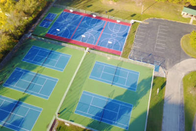 Tennis Court Construction