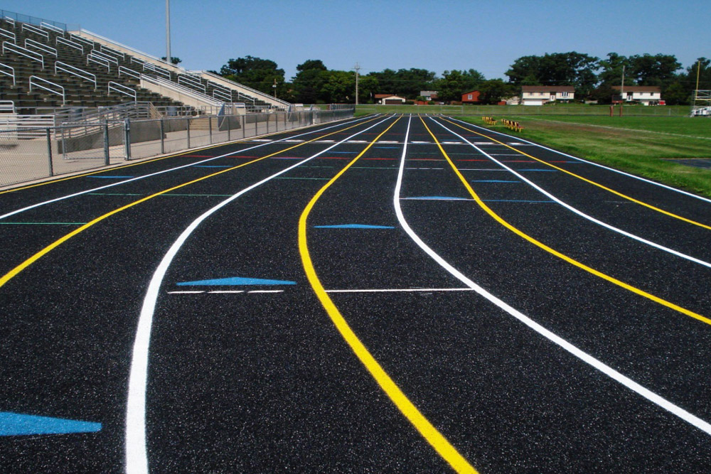 Running Track Construction
