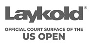Laykold Official Court Surface of the US Open